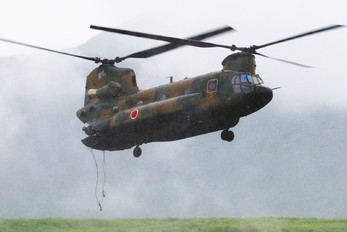 JG-2977 - Japan - Ground Self Defense Force Kawasaki CH-47J Chinook