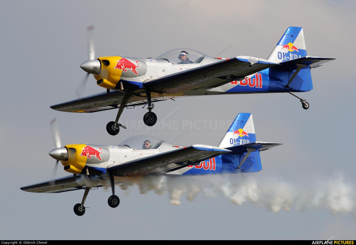 The Flying Bulls : Aerobatics Team OK-XRA aircraft at Hradec Králové