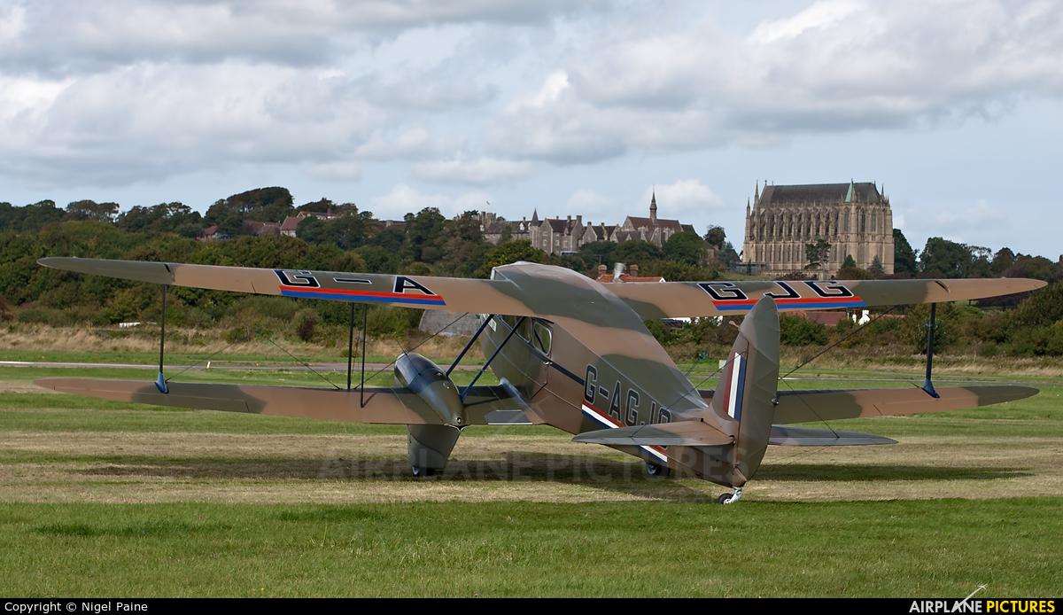 Private G-AGJG aircraft at Brighton - Shoreham