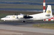 OO-VLO - Vision Air Fokker 50 aircraft