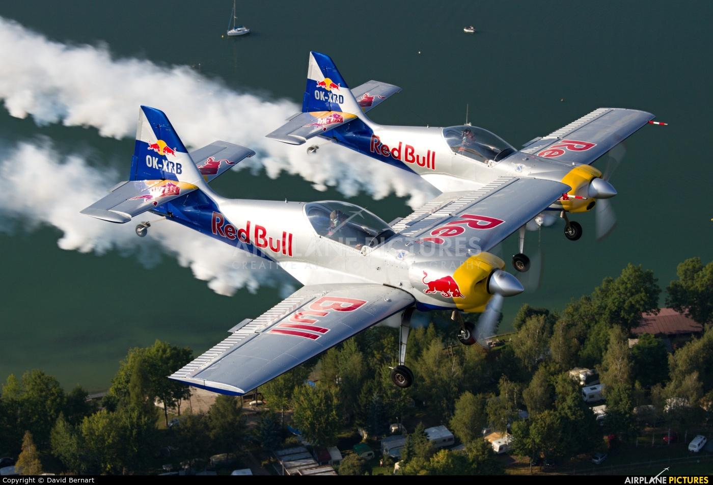 The Flying Bulls : Aerobatics Team OK-XRB aircraft at