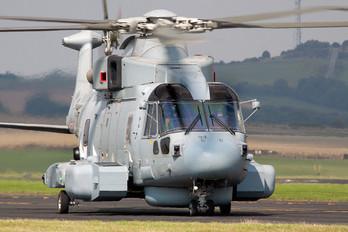 ZH831 - Royal Navy Agusta Westland AW101 111 Merlin HM.2 Crowsnest