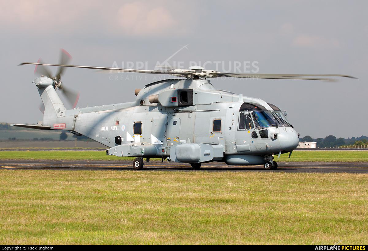 Royal Navy ZH831 aircraft at Boscombe Down