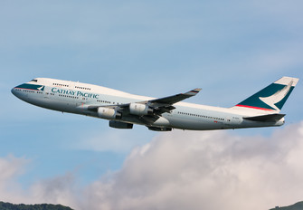 B-HOP - Cathay Pacific Boeing 747-400