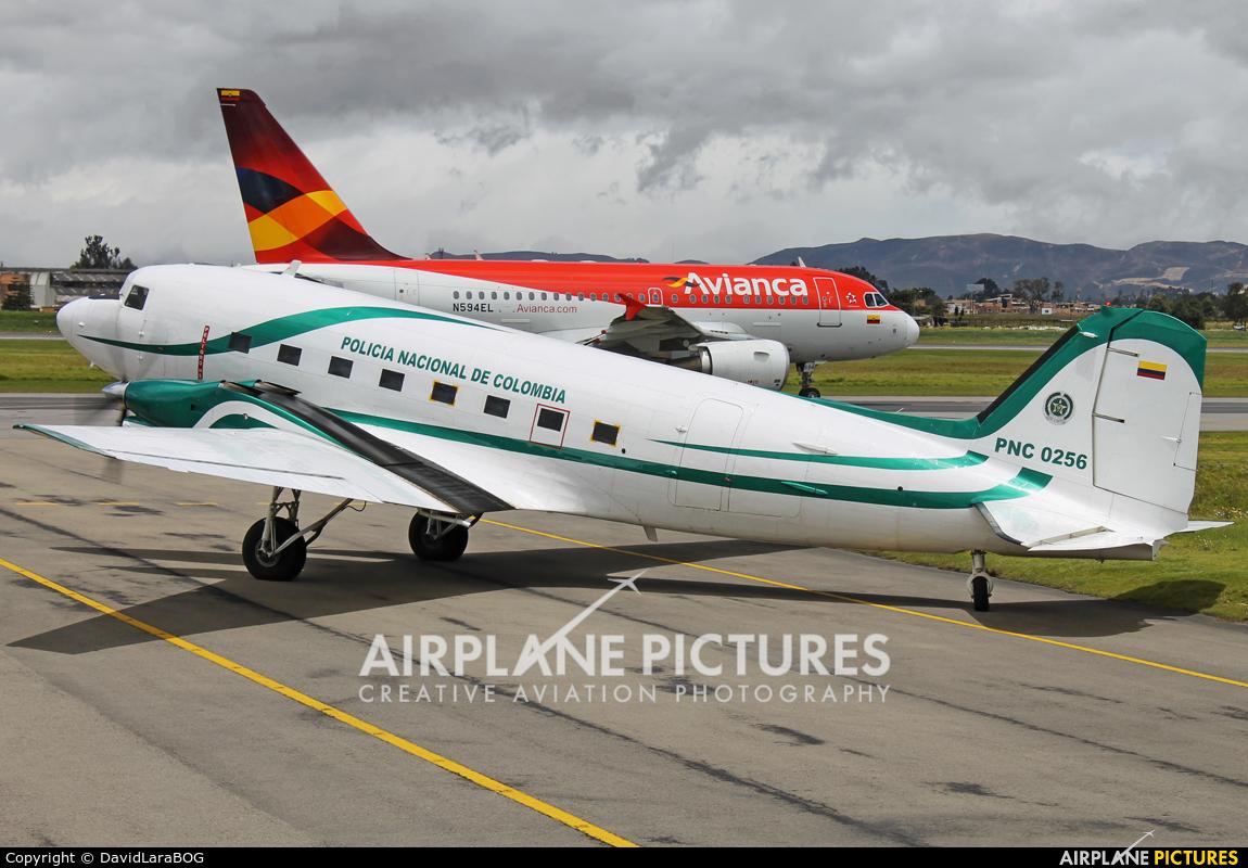 Colombia - Police PNC-0256 aircraft at Bogotá - Eldorado Intl