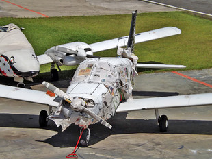 PT-JQI - Aerocon Escola de Aviação Civil Piper PA-28 Cherokee