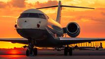 - - Private Bombardier BD-700 Global Express aircraft