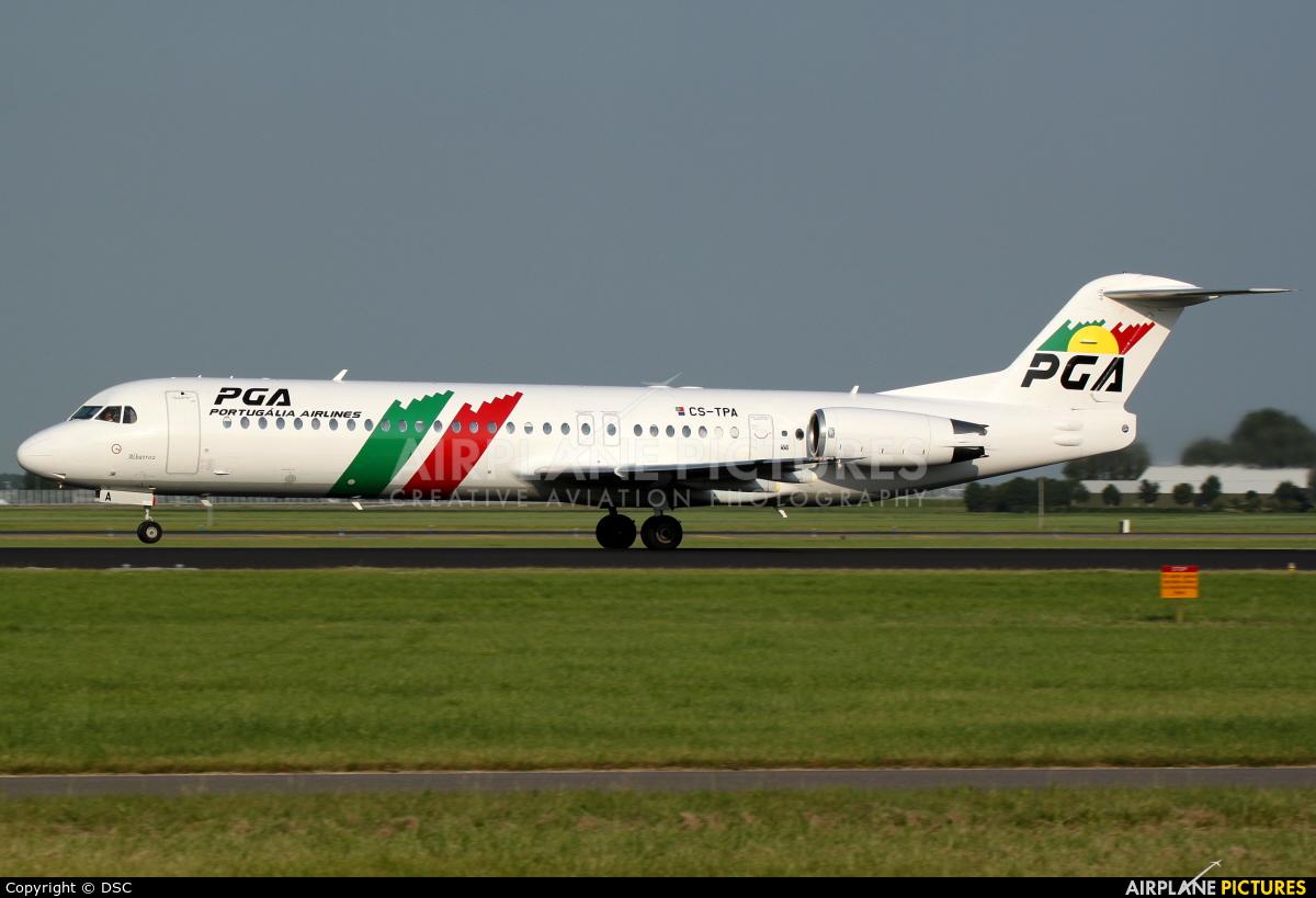 PGA Portugalia CS-TPA aircraft at Amsterdam - Schiphol