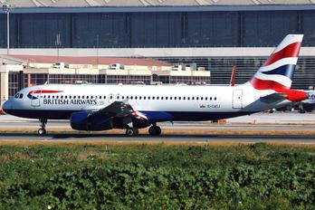 G-GATJ - British Airways Airbus A320