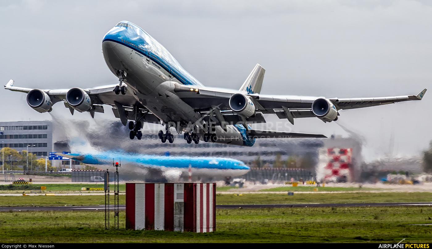 KLM PH-BFK aircraft at Amsterdam - Schiphol