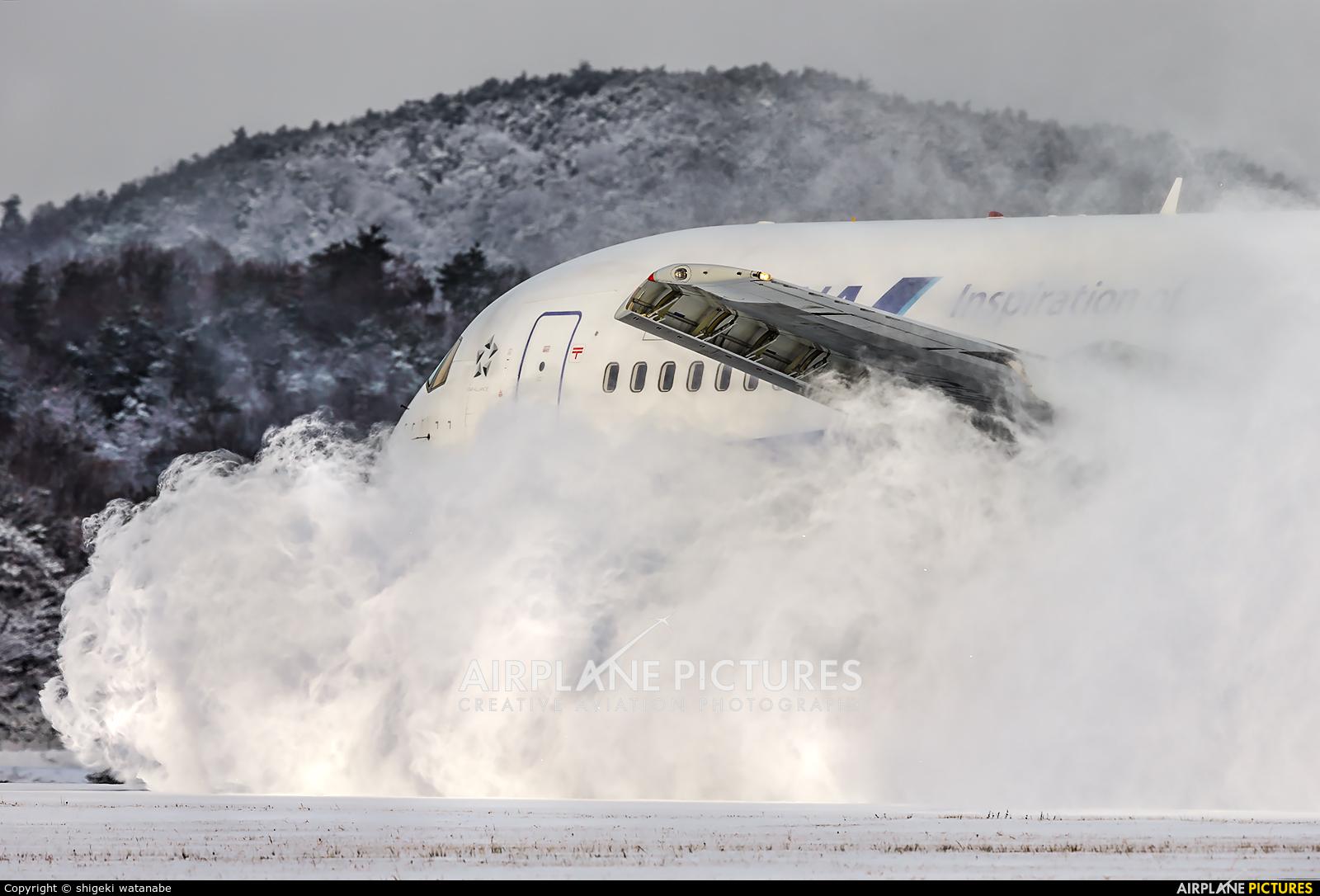 ANA - All Nippon Airways JA8357 aircraft at Hiroshima