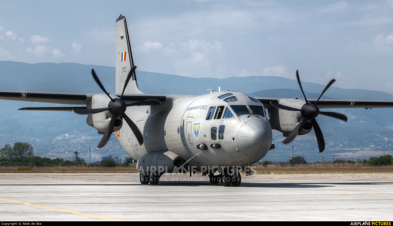 Romania - Air Force 2702 aircraft at Plovdiv - Krumovo