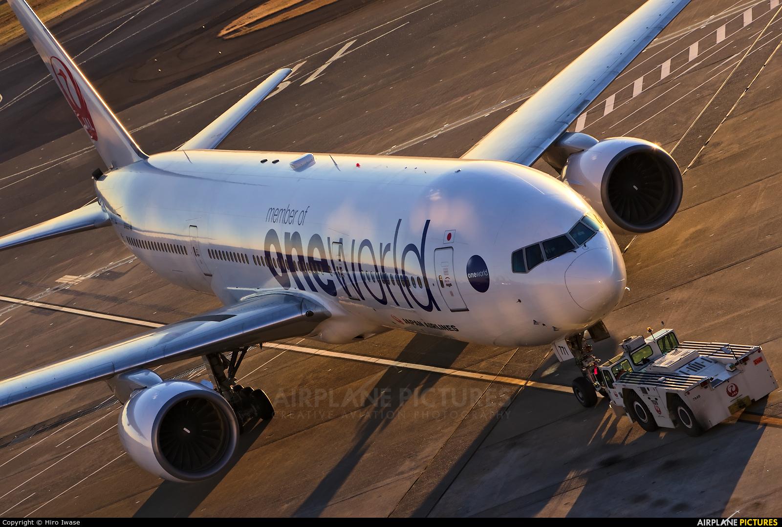 JAL - Japan Airlines JA771J aircraft at Tokyo - Haneda Intl