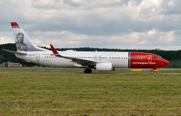 LN-NIF - Norwegian Air Shuttle Boeing 737-800