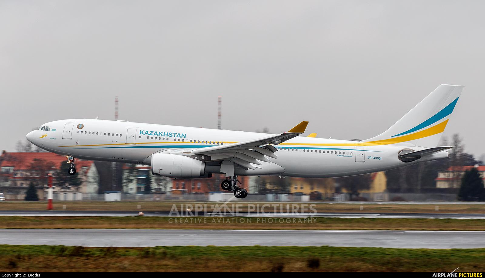 Kazakhstan - Government UP-A3001 aircraft at Berlin - Tegel