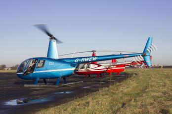 G-RWEW - Private Robinson R44 Clipper