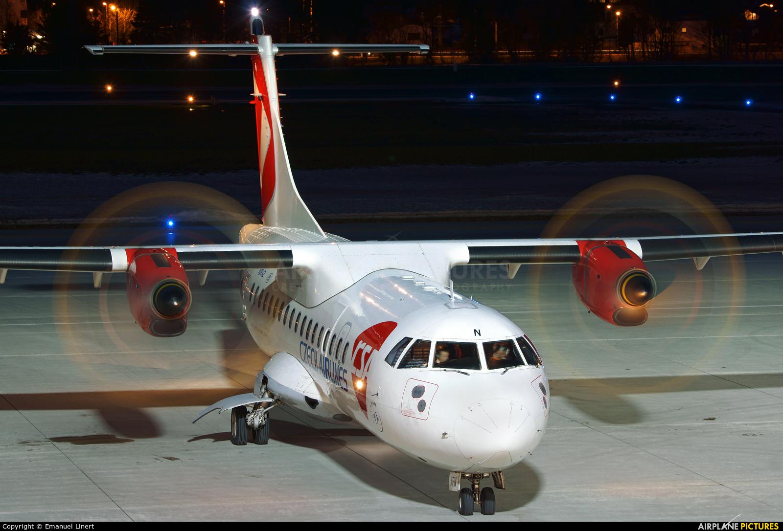 CSA - Czech Airlines OK-KFN aircraft at Innsbruck