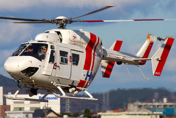 JA6659 - Central Helicopter Service MBB BK-117