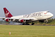 G-VXLG - Virgin Atlantic Boeing 747-400 aircraft