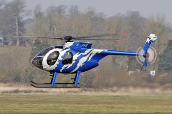 G-JIVE - Private MD Helicopters MD-500E
