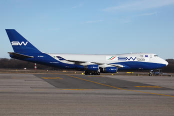 4K-SW800 - Silk Way Italia Boeing 747-400F, ERF