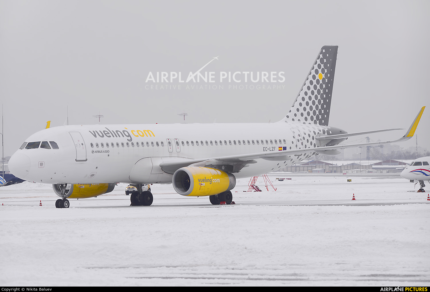 Vueling Airlines EC-LZF aircraft at Moscow - Sheremetyevo