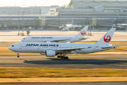 JA8977 - JAL - Japan Airlines Boeing 777-200 aircraft