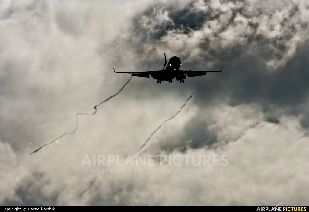 Lufthansa Cargo D-ALCS aircraft at Bangalore - Bengaluru Intl