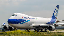 JA03KZ - Nippon Cargo Airlines Boeing 747-400F, ERF aircraft