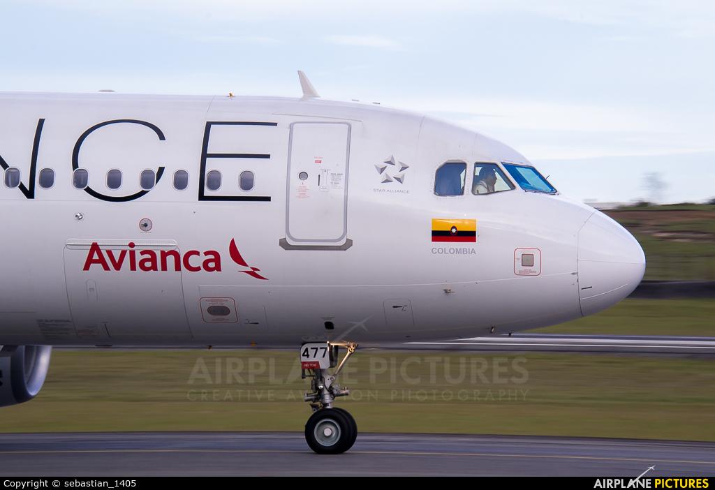 Avianca N477AV aircraft at Medellin - Jose Maria Cordova Intl