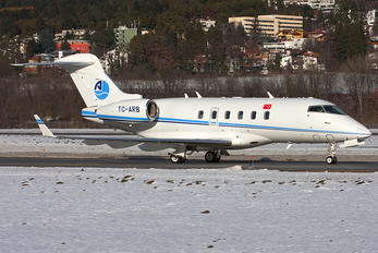 TC-ARB - ArkasAir Bombardier BD-100 Challenger 300 series