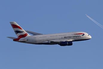 G-XLED - British Airways Airbus A380