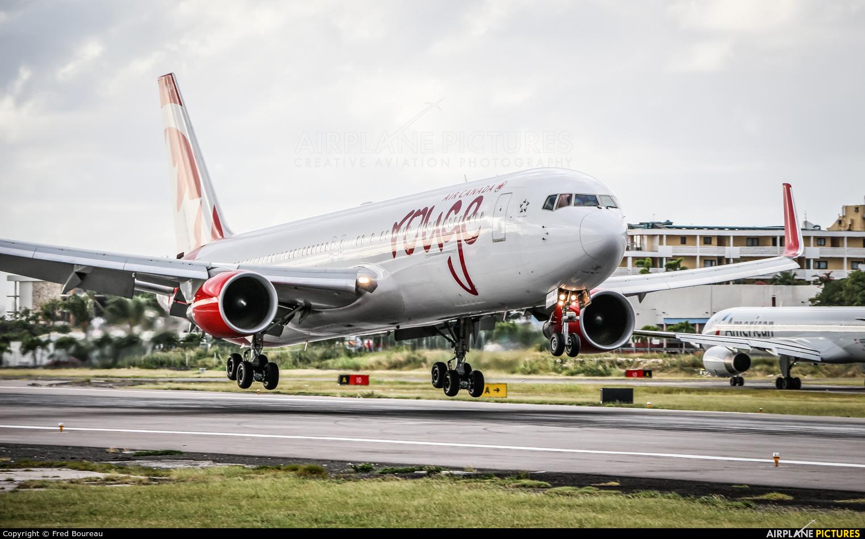 Air Canada Rouge C-FMWV aircraft at Sint Maarten - Princess Juliana Intl