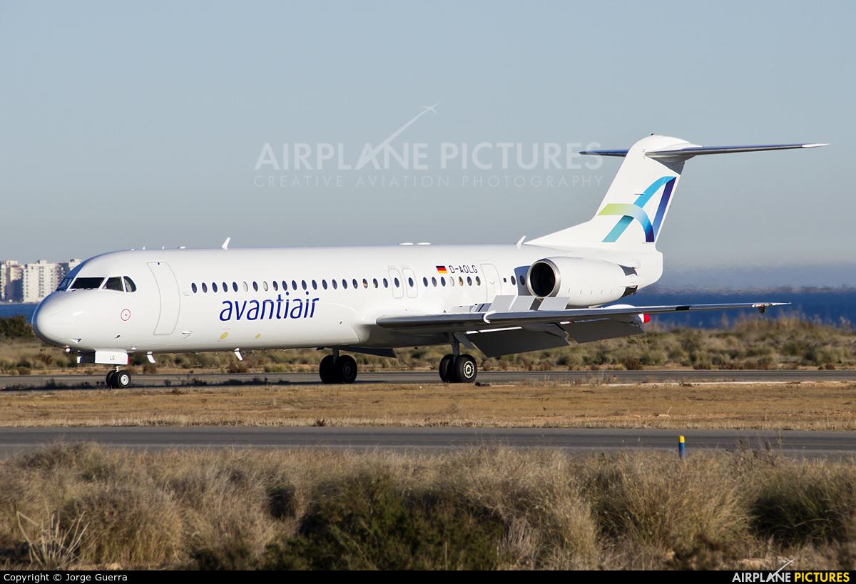 AvantiAir D-AOLG aircraft at Murcia - San Javier
