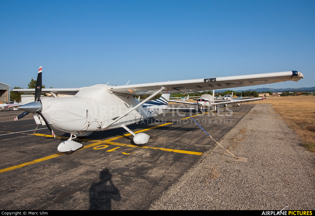 Private F-HIND aircraft at Aix-en-Provence