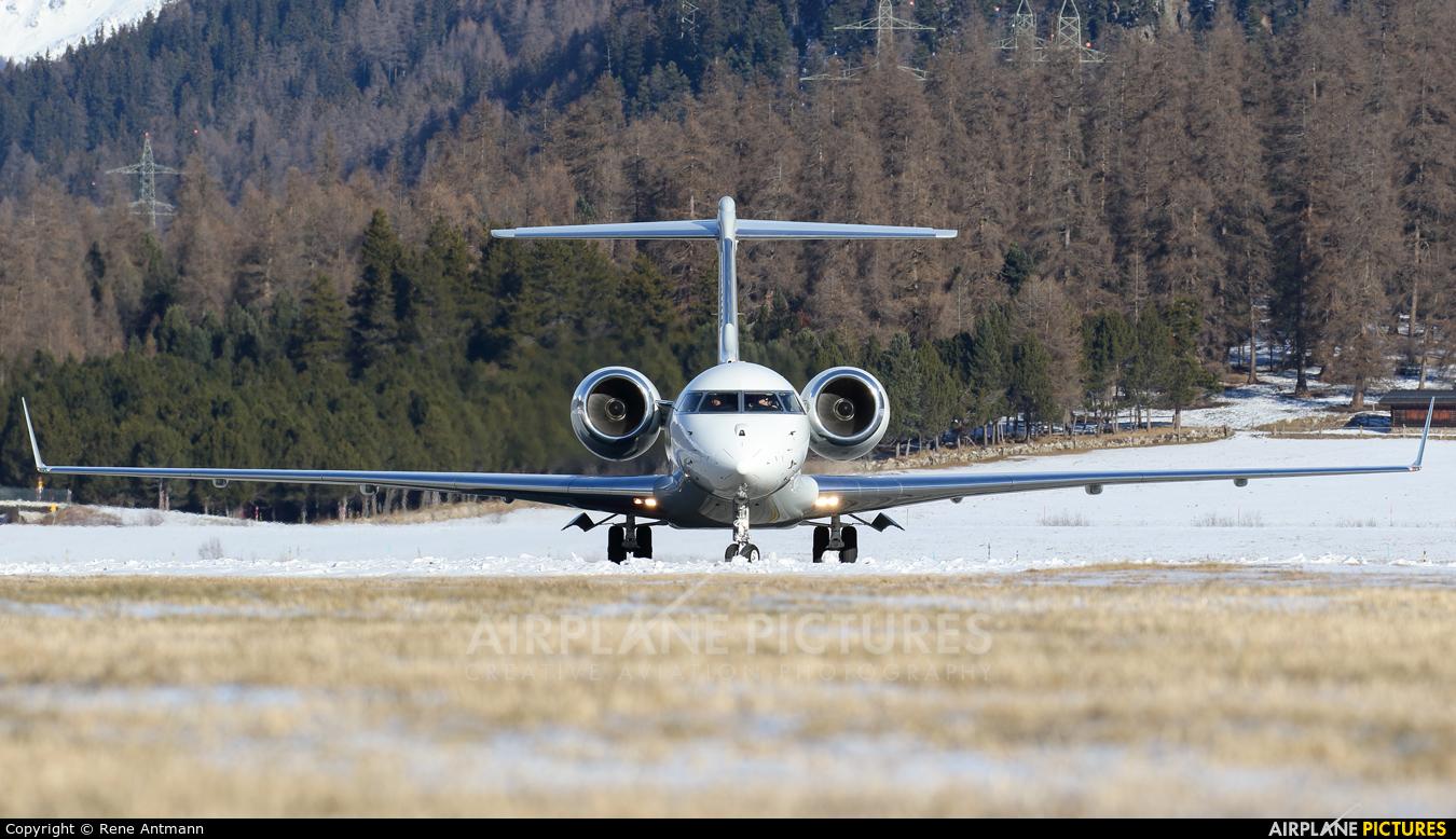 DC Aviation D-ACBO aircraft at Samedan - Engadin