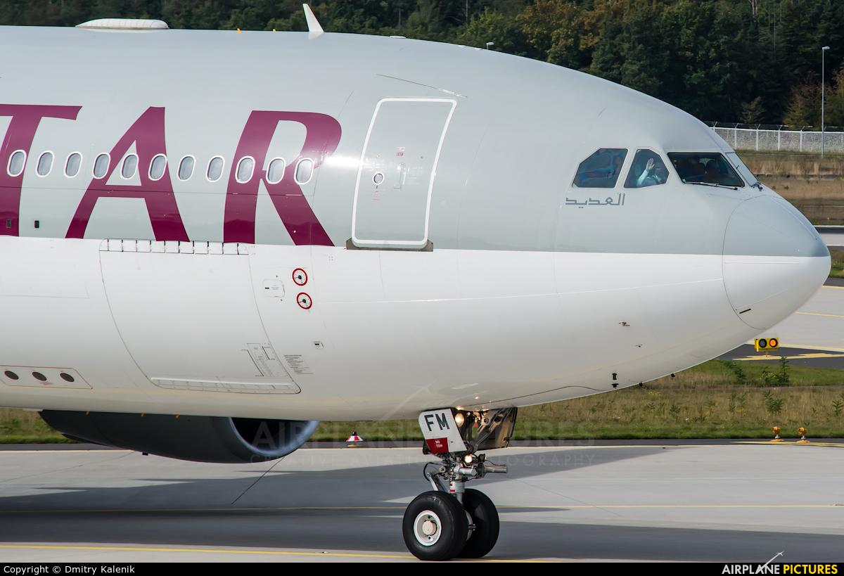 Qatar Airways A7-AFM aircraft at Frankfurt