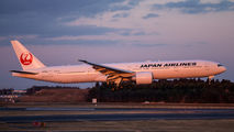 JA738J - JAL - Japan Airlines Boeing 777-300ER aircraft