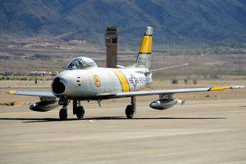 NX860AG - Private North American F-86F Sabre