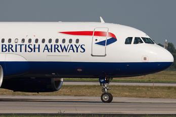 G-EUUP - British Airways Airbus A320