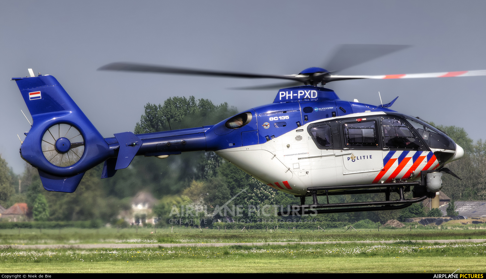 Netherlands - Police PH-PXD aircraft at Deventer - Teuge