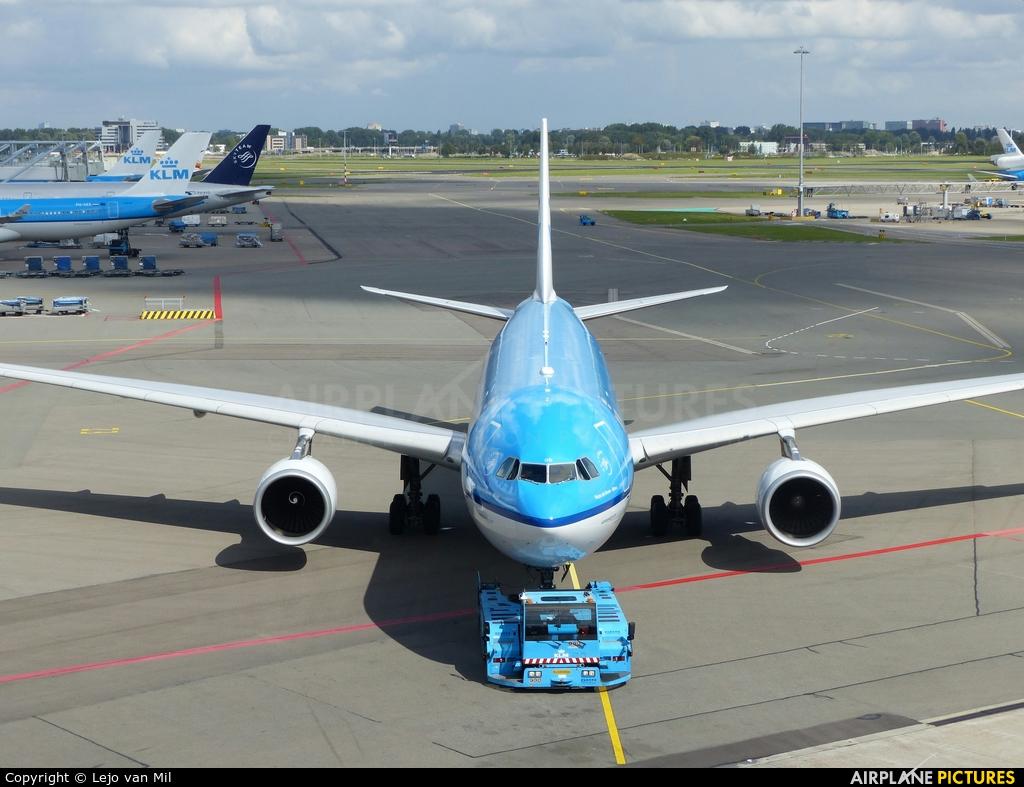 KLM PH-AOD aircraft at Amsterdam - Schiphol