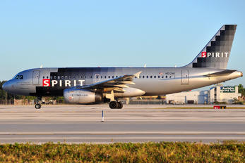 N512NK - Spirit Airlines Airbus A319