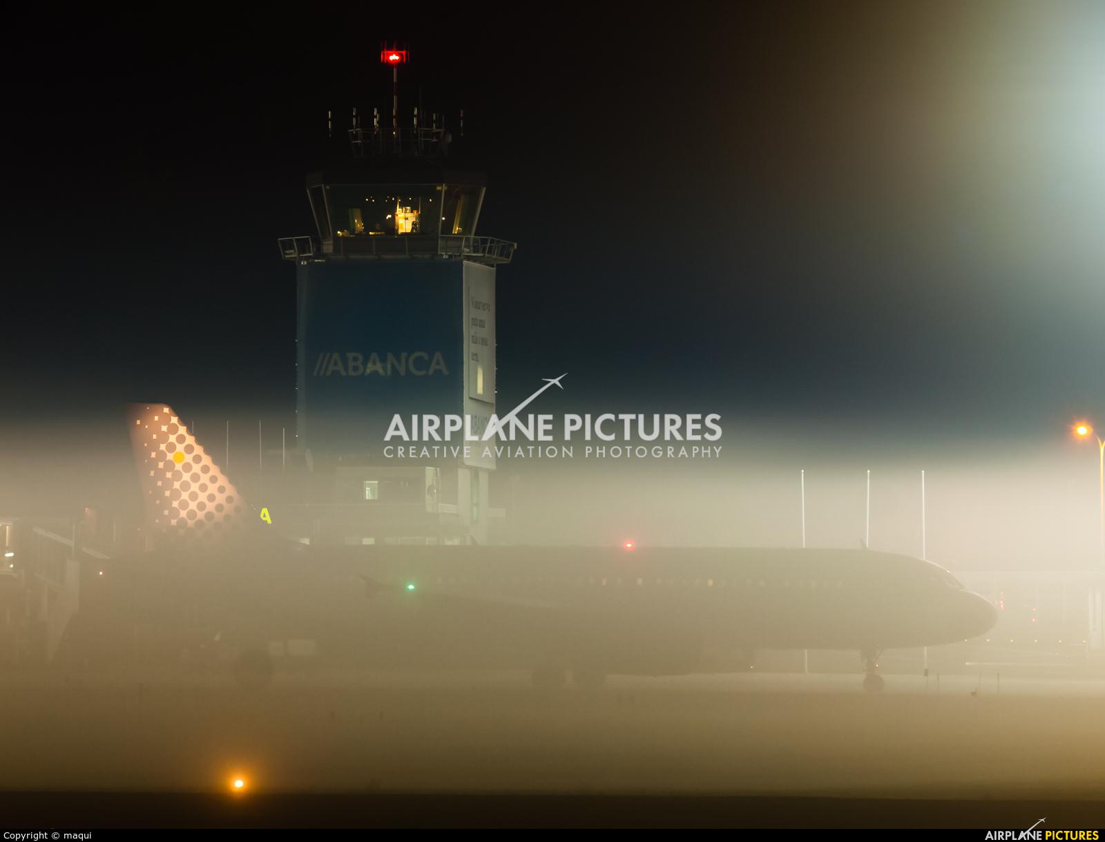 Vueling Airlines EC-LRA aircraft at La Coruña