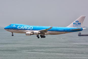 PH-CKD - KLM Cargo Boeing 747-400F, ERF