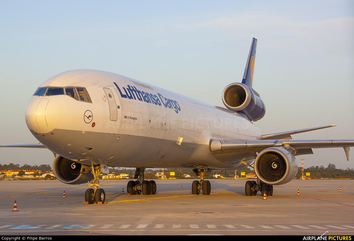 Lufthansa Cargo D-ALCI aircraft at Porto