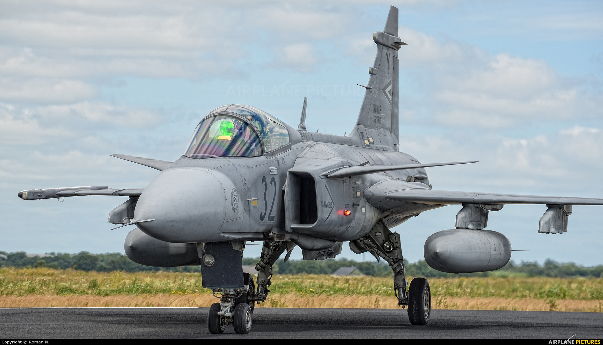 Hungary - Air Force 32 aircraft at Schleswig-Jagel