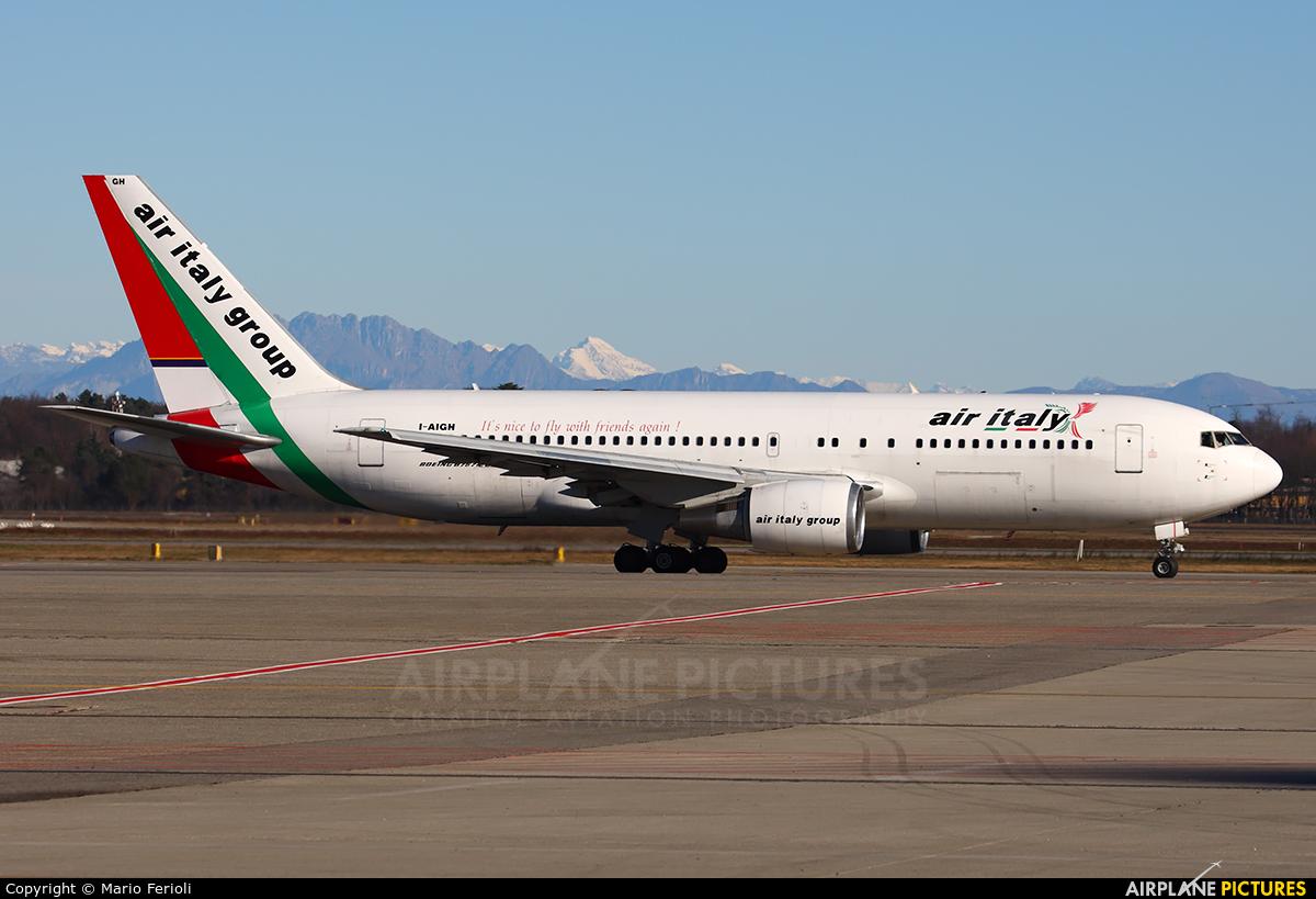 Air Italy I-AIGH aircraft at Milan - Malpensa