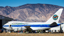 Pratt & Whitney Canada B747SP rare visit in Mojave title=