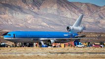 Last MD-11 PH-KCD being dismantled in Mojave title=